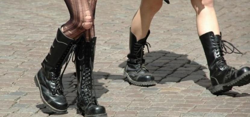 Těžké boty – obutí nejen pro tvrďáky