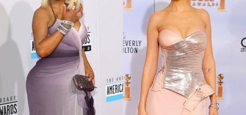 Váhové proměny celebrit