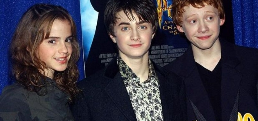 Harry Potter: herci před 13 lety a dnes