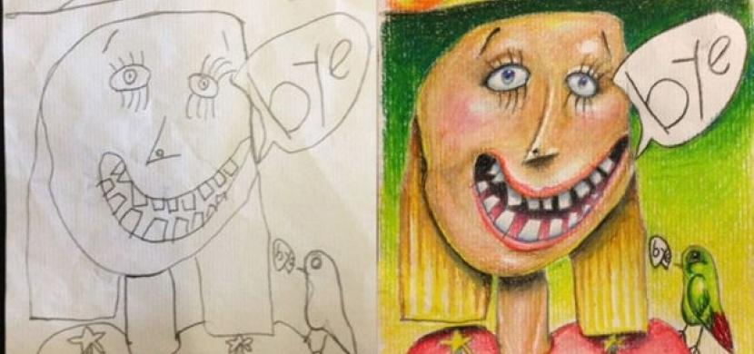 Otec Vybarvuje Kresby Svych Deti Co Rikate Na Vysledek Jenzeny Cz