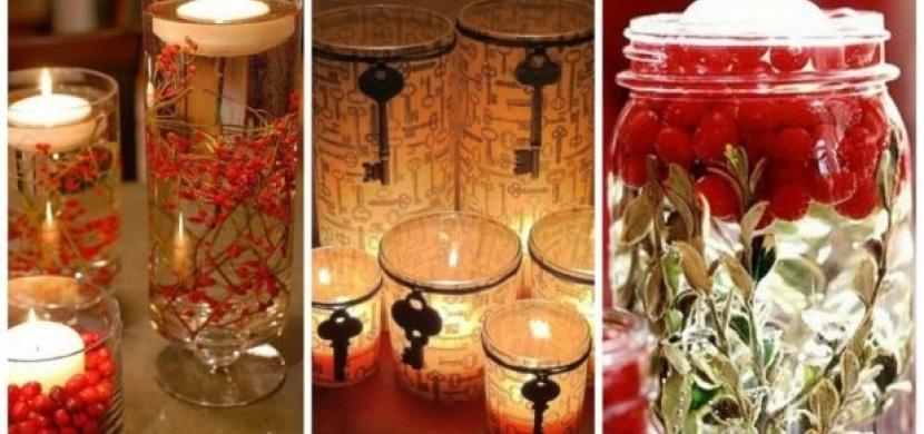 Vytvoř si sám: Ozdobné svíčky