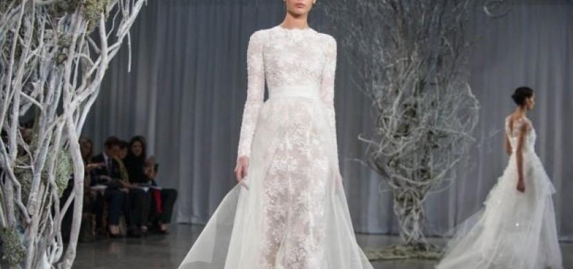 Svatební trendy pro rok 2015: Jaké svatební šaty budou vévodit nastávající sezoně?