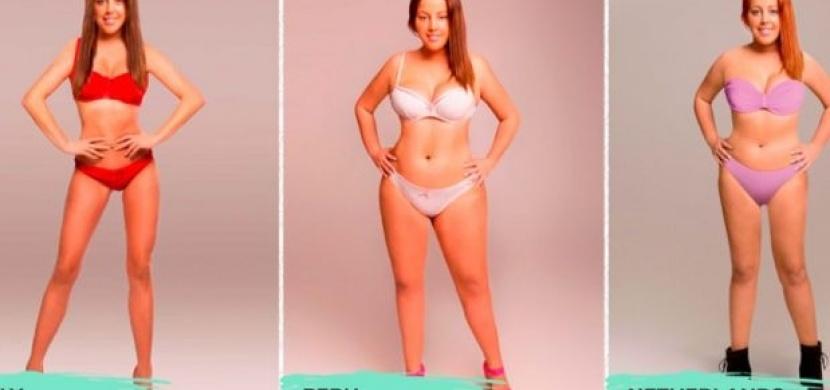 Jedno ženské tělo bylo upraveno tak, aby odpovídalo ideálu krásy v 18 různých zemích světa