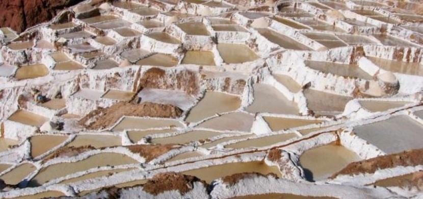 Peru: Výroba soli postaru