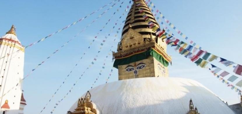 Nepál: Až na vrchol Opičího chrámu
