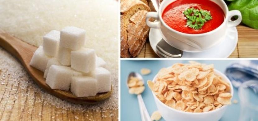 Pozor! Tyhle potraviny obsahují ohromnou nálož cukrů