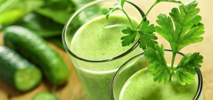 To nejlepší pro naše zdraví? Zelené šťávy!