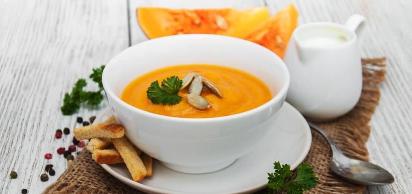 Recepty od maminky: polévka z pečené dýně