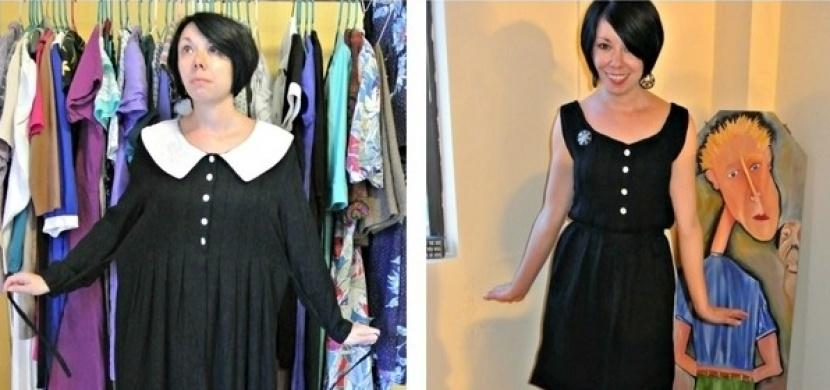 Obnova šatníku pomocí recyklace starého oblečení. Nechte se inspirovat