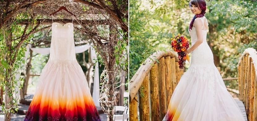 Tyto svatební šaty rozdělily uživatele internetu na dva oddělené tábory. Vysvětlíme vám proč!