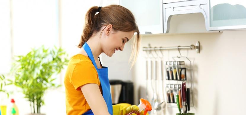 7 tipů pro úklid kuchyně, které vám ušetří čas