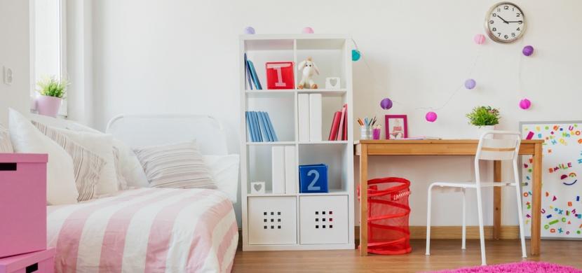 Na co si dát pozor při zařizování pokoje pro malého školáka?