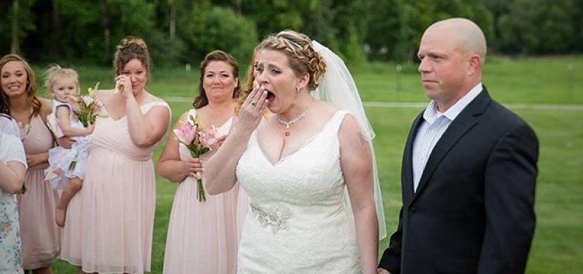 Na své svatbě nechala prázdnou židli pro svého zesnulého syna. O chvíli později ale neudržela pláč...