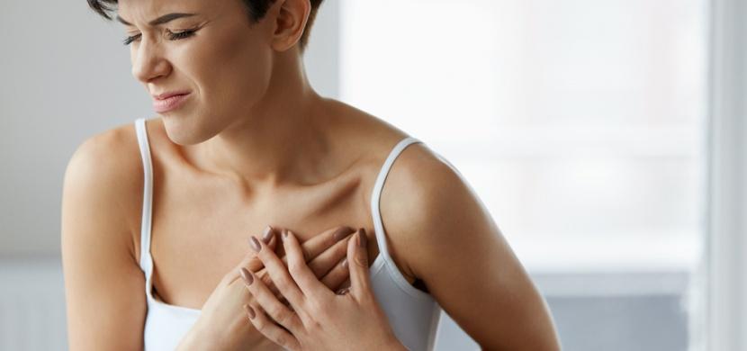 Příznaky infarktu, které se objevují zejména u žen!