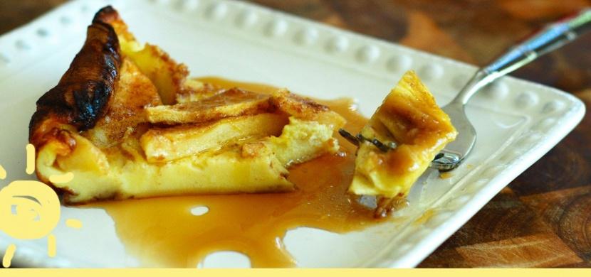 Máte rádi jablka? Vyzkoušejte tento jednoduchý recept na jablkový koláč!