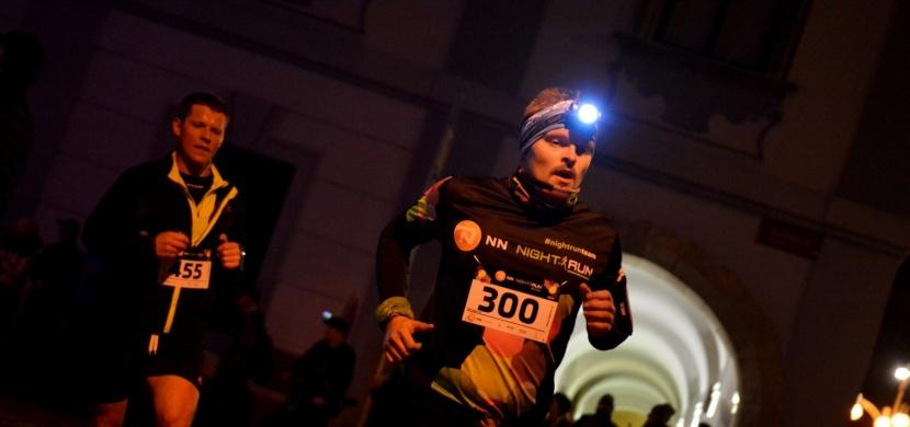 České Budějovice opět po roce zaplnili noční běžci