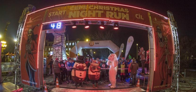 Noční běžecký závod opět po roce rozzáří centrum předvánoční Ostravy