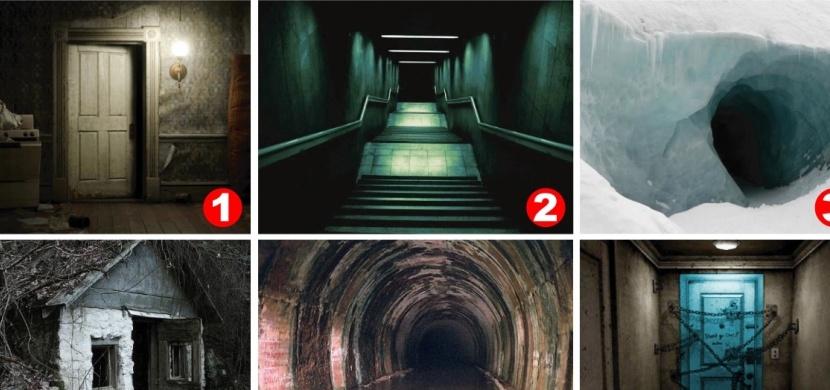 Která z následujících fotografií ve vás probudí největší obavy? Prozradí to o vás dost věcí