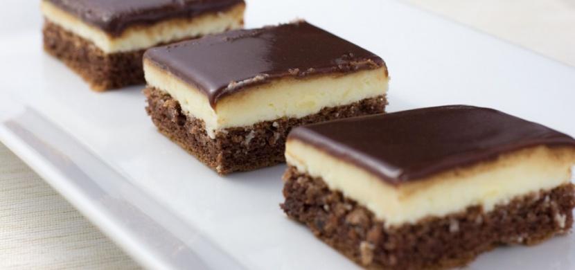 Nanukové řezy s čokoládovou polevou, kterými ohromíte každou návštěvu