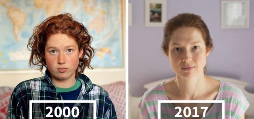 Fotografka nafotila své přátele s odstupem 17 let. Podívejte se, jak rozdílně lidé stárnou