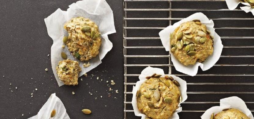 Čtenářka píše: Dýňové muffiny s chia semínky