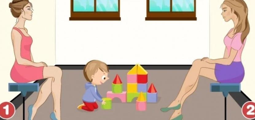 Která z žen na obrázku je maminkou dítěte? Test, který o vaší osobnosti vypoví mnohé