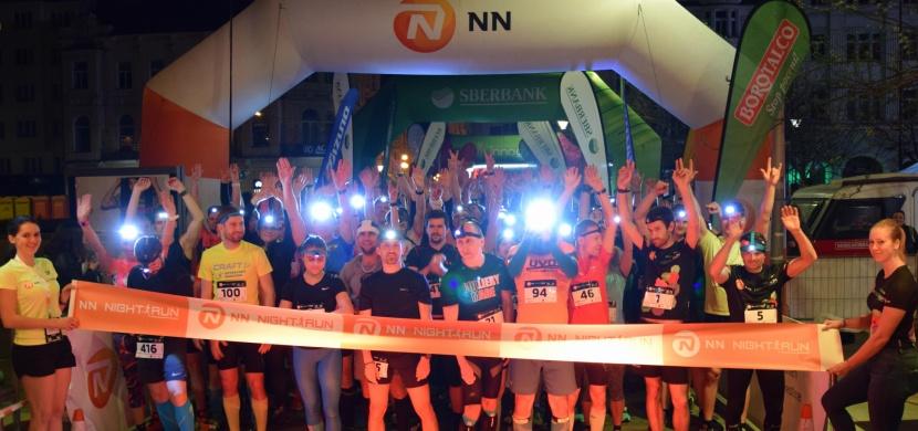 Start oblíbeného seriálu NN Night run vyšel na výbornou