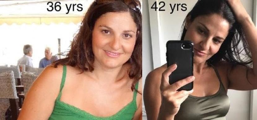 Tato žena vypadá ve svých 42 letech lépe než dřív. Jak to dokázala?