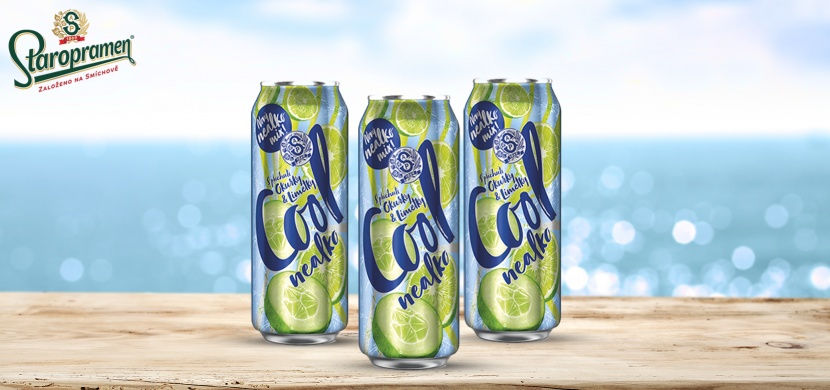 Cool nealko přináší novou osvěžující příchuť Okurka a Limetka
