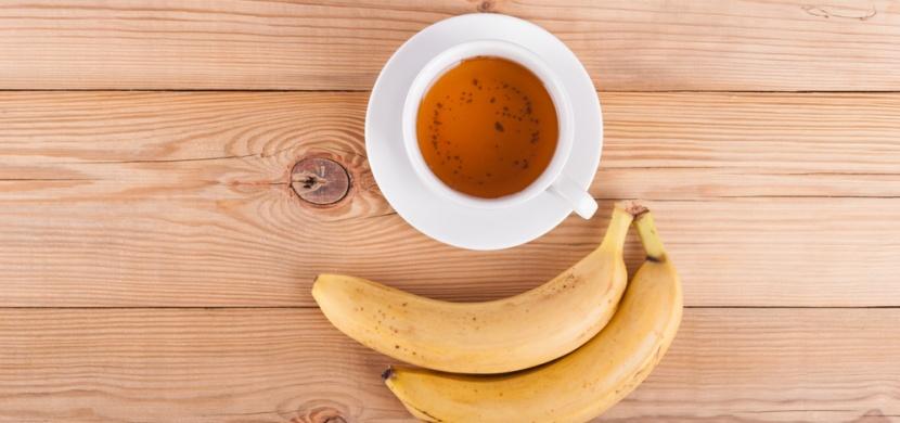 Nemůžete spát? Připravte si čaj z banánu a skořice