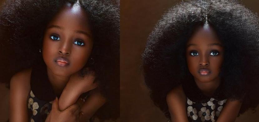 Tahle holčička je údajně tím nejkrásnějším dítětem na světě. Co na ni říkáte vy?
