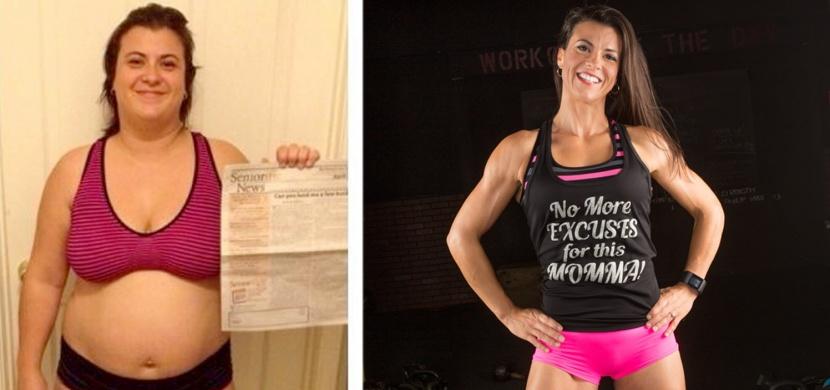 Tato žena přetavila tuky ve svalovou hmotu: Nyní miluje každý centimetr svého těla