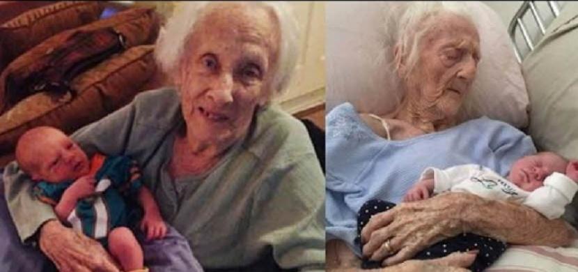 Ve 101 letech porodila naprosto zdravého chlapečka. Jak je tohle vůbec možné?