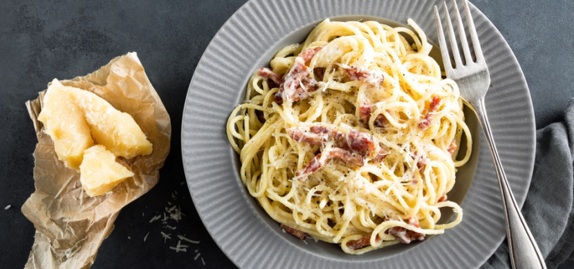 Špagety carbonara, které si zamilujete