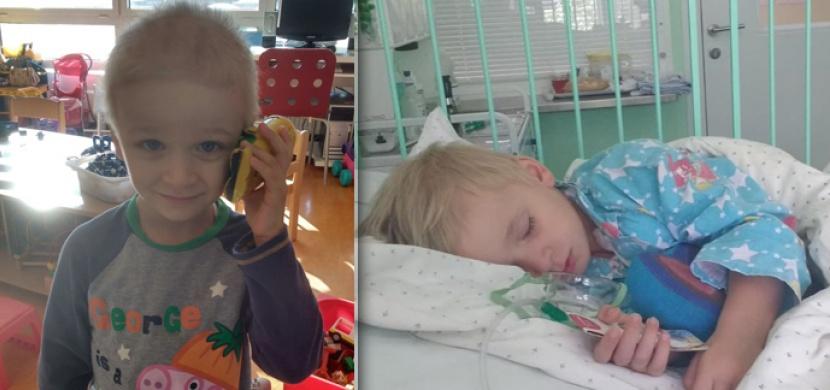 Rodina z Česka prosí o peníze. Potřebují je na léčbu nemocného syna a pro sebe