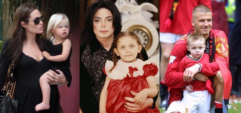 Ty ale vyrostly! Podívejte se, jak se změnily děti celebrit