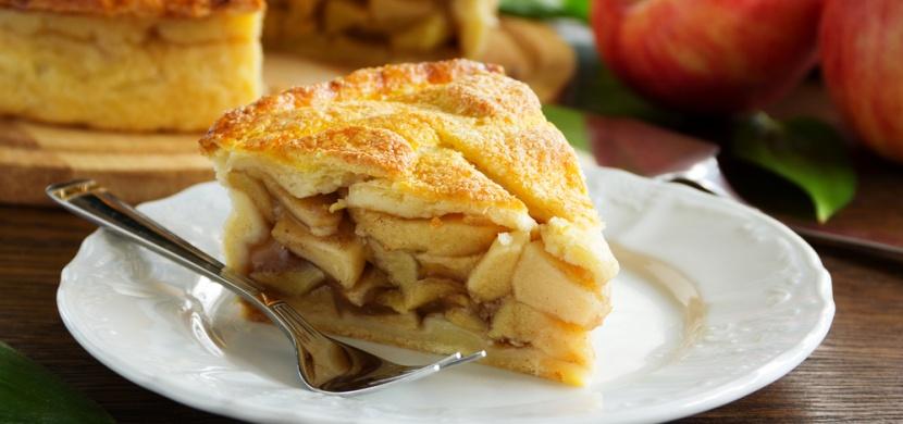Netradiční jablkový koláč z jarmarku