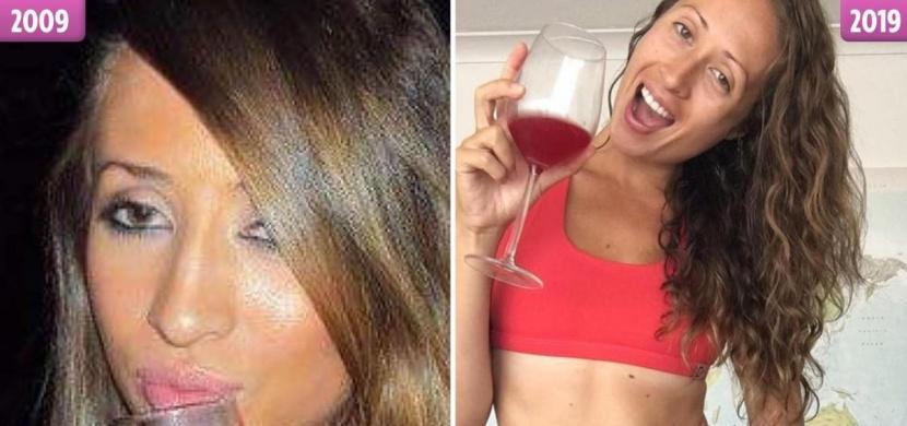 """10 Years Challenge: """"Můj život je lepší za střízliva"""", říká bývalá královna alkoholových večírků Jessa O´Brienová"""
