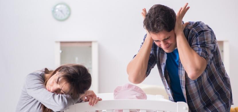 Bílý šum: Geniální trik jak zklidnit a uspat plačící miminko