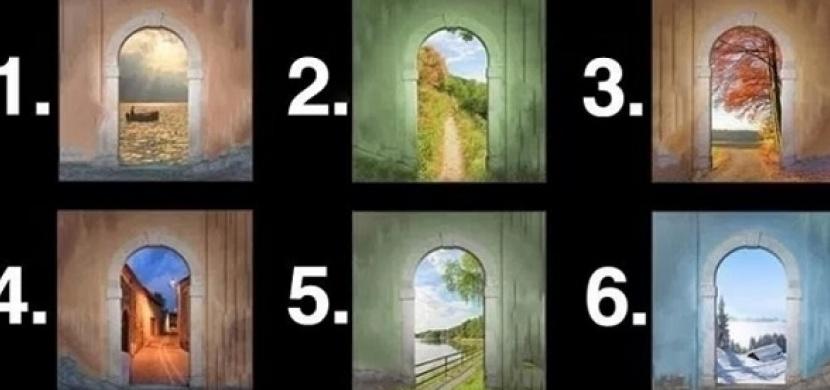 Vyberte si jedny z těchto dveří: Řeknou vám, jaká vás čeká budoucnost
