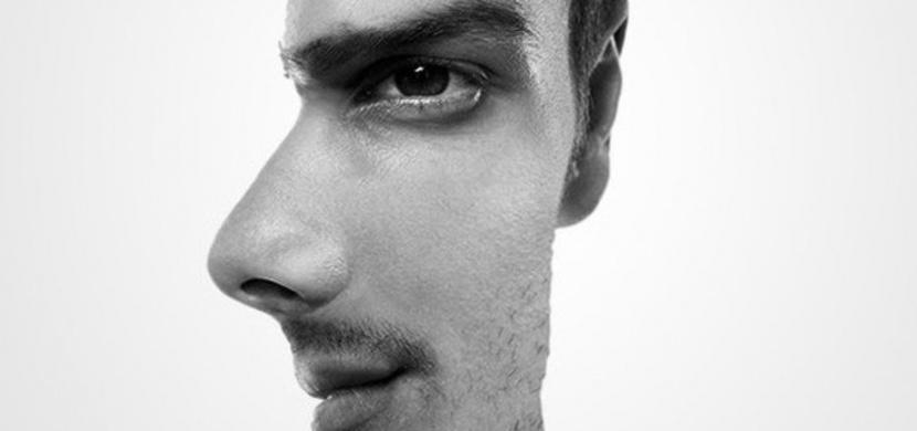 Test osobnosti: Dívá se na vás tento muž přímo, nebo je zobrazen z profilu?
