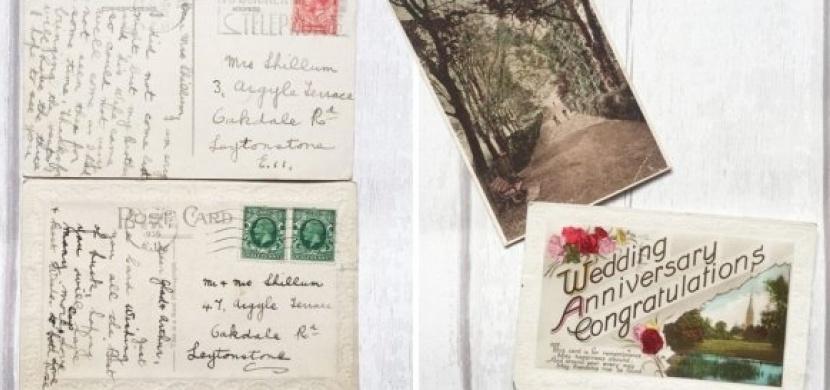 Žena objevila na eBay rodinný poklad: A to ztracené pohlednice z roku 1936 adresované jejím prarodičům