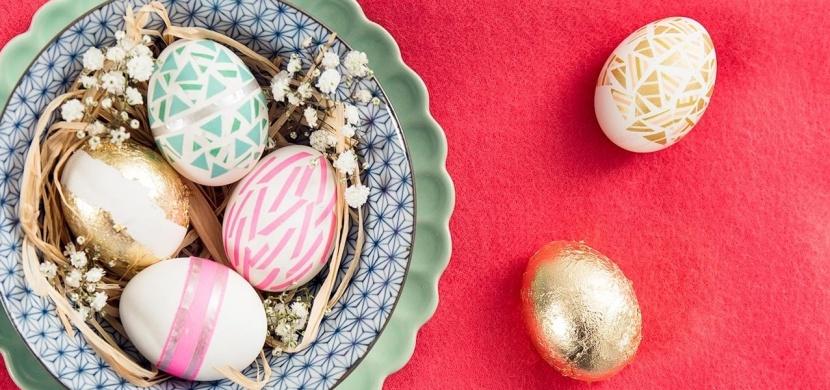 Velikonoční vajíčka originálně, snadno a rychle: Ozdobte je washi páskami