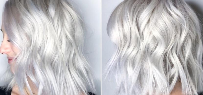 Skandinávská bílá válcuje klasické blond vlasy: Jak se vám tento nejnovější vlasový trend líbí?