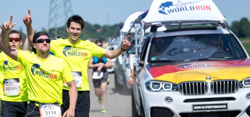 Wings for Life World Run, když tě dojede auto, končíš