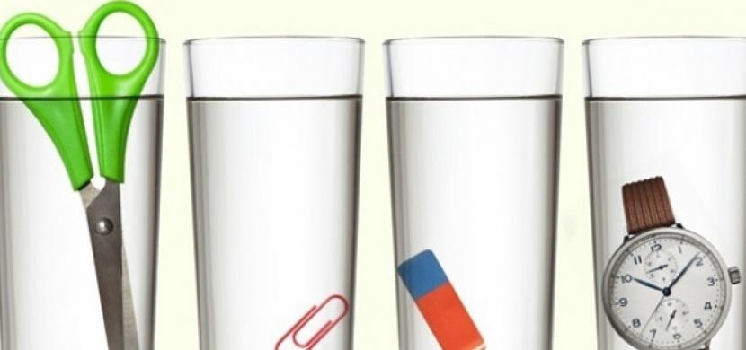 Tuto hádanku vyřeší správně jenom 1 % lidí: Víte, ve které sklenici je nejvíc vody?