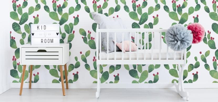 Oživte si domov motivem kaktusů: Vymalujte si jimi stěny