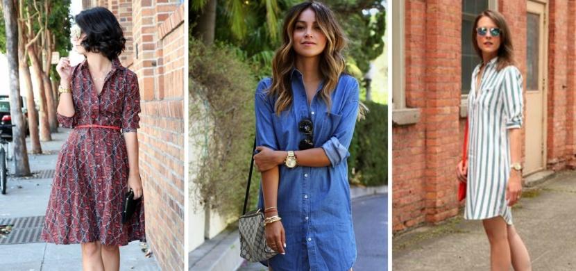 Košilové šaty: Staronový trend, který si zamilujete