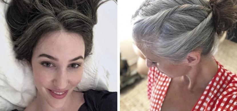 Tyto odvážné ženy se přestaly barvit: Nechaly vyniknout svým přírodním šedinám