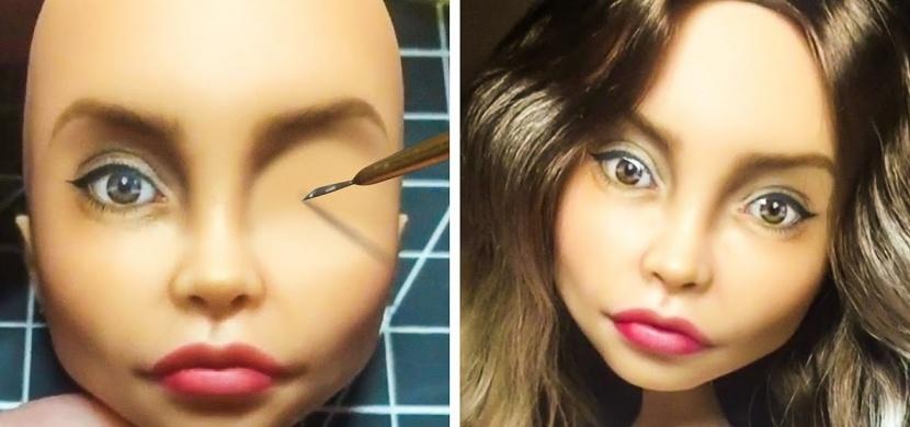Ukrajinská umělkyně dává panenkám skutečnou podobu: Díky svému umění vyzdvihuje krásu i nedokonalost lidského těla